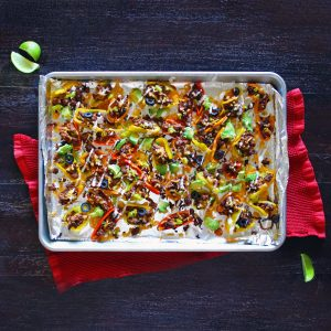 Bell Pepper Nachos: a Healthy (and skinny) Nacho-Remix!