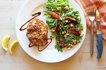 Dukkah Crusted Pork Chops