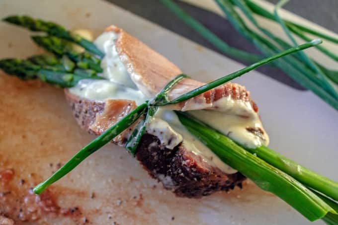 Asparagus Beef Rollup