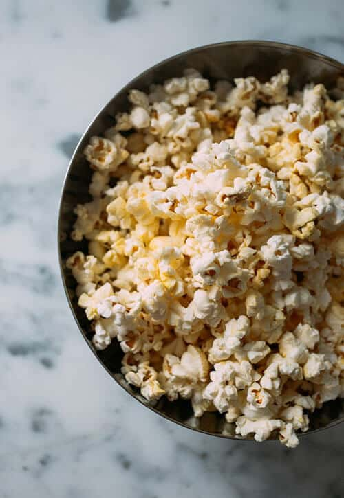 Popcorn as a healthy snack idea for pregnancy