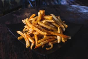 Sweet Potato Fries are a healthy pregnancy snack!