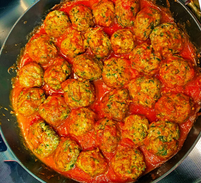 kid-friendly meatballs - step 7 - the final product!